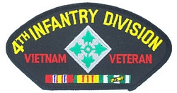 4th Infantry Division Vietnam Veteran Patches